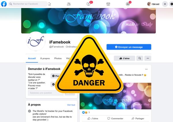 IFameBook l'arnaque peut faire mal à votre porte-monnaie